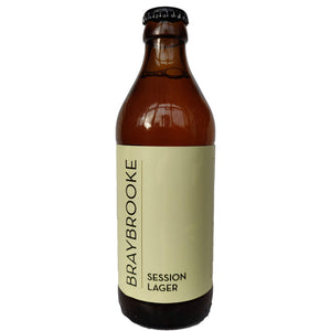 Braybrooke Session Lager 3.8% (330ml)-Hop Burns & Black