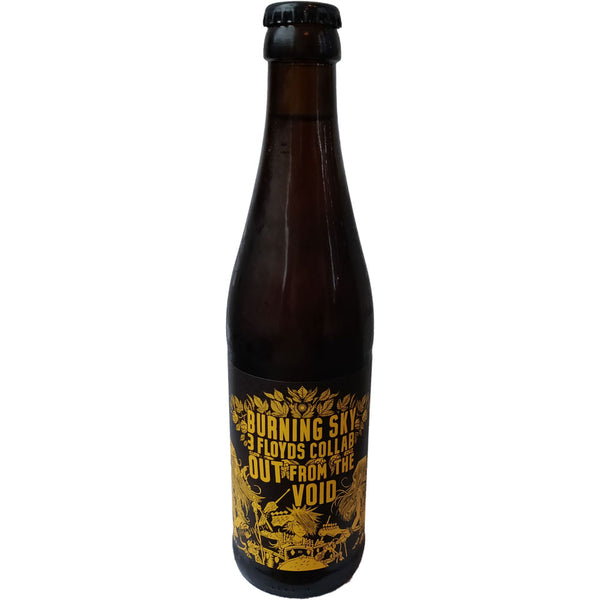 Burning Sky x 3 Floyds Out From The Void Barley Wine 11% (330ml)-Hop Burns & Black