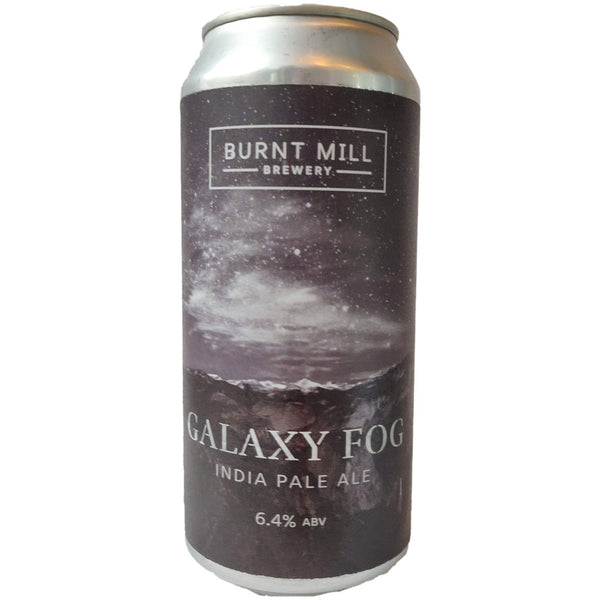 Burnt Mill Galaxy Fog IPA 6.4% (440ml can)-Hop Burns & Black