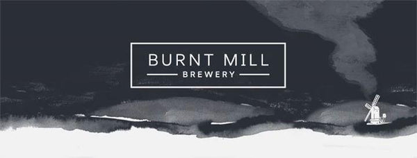 Burnt Mill x Pure Brewing Pure Fog IPA 6.4% (440ml can)-Hop Burns & Black