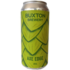 Buxton Brewery Axe Edge IPA 6.8% (440ml can)-Hop Burns & Black