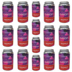 Canopy Brockwell IPA 5.6% CASE (24 x 330ml cans)-Hop Burns & Black