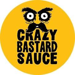 Crazy Bastard Ghost Pepper & Mango Hot Sauce (100ml)-Hop Burns & Black