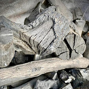 Holm Oak Charcoal (5kg) LOCAL SE LONDON DELIVERY/PICK UP ONLY-Hop Burns & Black