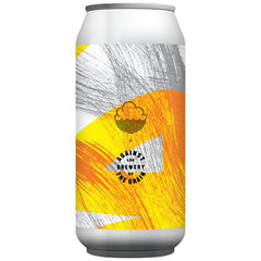 Cloudwater x Against the Grain #WWW.OOOOOO.DDD Smoked Beer 7.2% (440ml can)-Hop Burns & Black