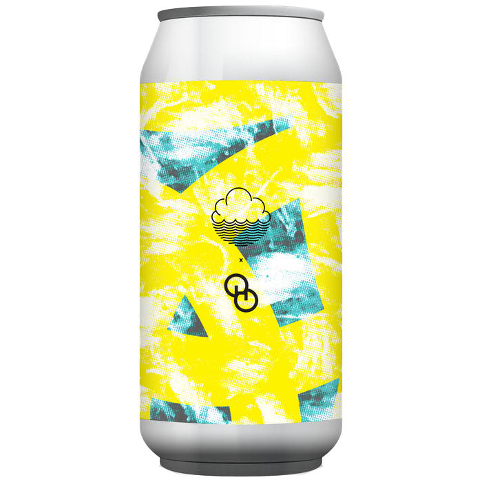 Cloudwater x Other Half Likeable Orange Liquid DIPA 8.5% (440ml can)-Hop Burns & Black