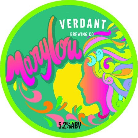 Verdant MaryLou Pale Ale 5.2% flagon (500ml includes flagon fee)-Hop Burns & Black