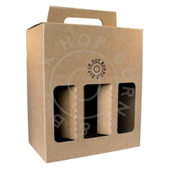 6-bottle gift box (box only - fits 6x 330ml bottles)-Hop Burns & Black