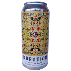 Duration Bet The Farm Hoppy Continental Pale Ale 4.5% (440ml can)-Hop Burns & Black