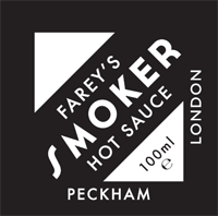 Farey's Peckham Smoker Hot Sauce (100ml)-Hop Burns & Black