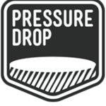Pressure Drop 50m Badge Double IPA 8.5% (440ml can)-Hop Burns & Black