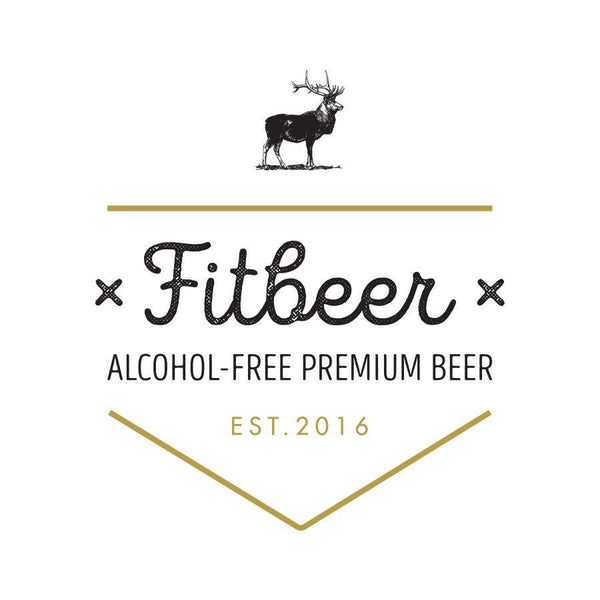 FitBeer 66 Alcohol Free Helles (330ml)-Hop Burns & Black