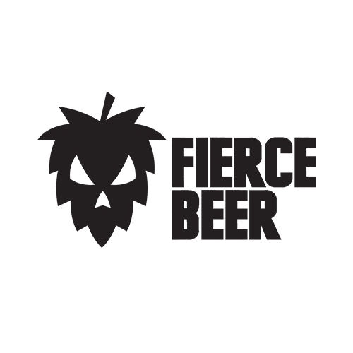 Fierce Beer x North Brewing Co Single Hop El Dorado Sour IPA 6% (440ml can)-Hop Burns & Black