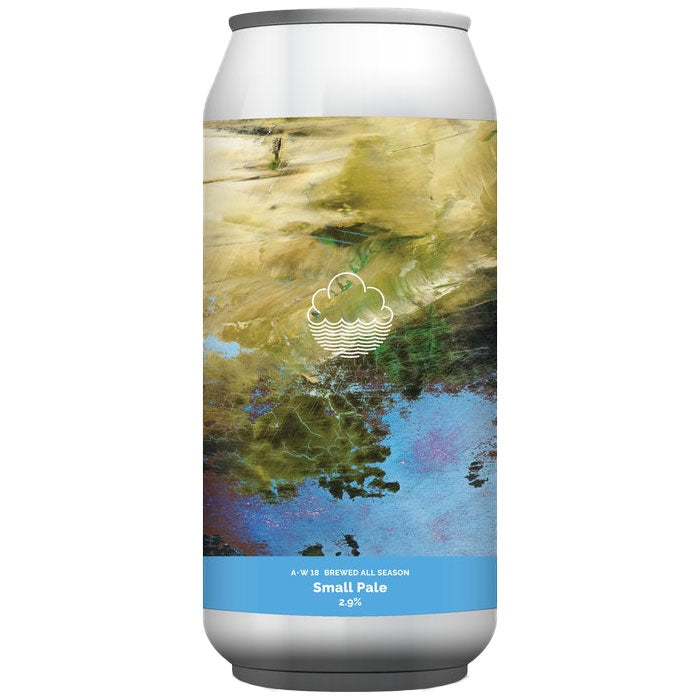 Cloudwater AW18 All Season Small Pale 2.9% (440ml can)-Hop Burns & Black