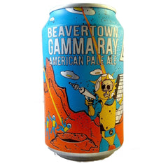 Beavertown Gamma Ray APA 5.4% (330ml Can)-Hop Burns & Black