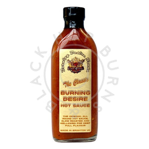 Burning Desire The Classic Hot Sauce (150ml)-Hop Burns & Black