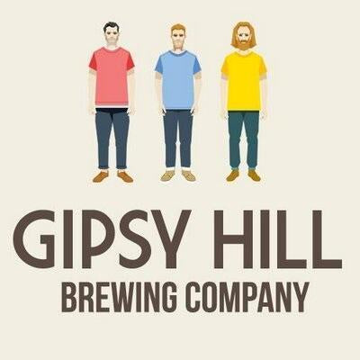 Gipsy Hill Wooden Ships Bourbon Barrel Aged IPA 6.5% (500ml)-Hop Burns & Black