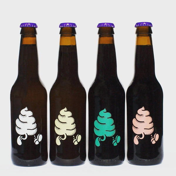 Buxton x Omnipollo Original Rocky Road Ice Cream 10% (330ml)-Hop Burns & Black