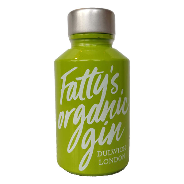 Fatty's Organic Gin Mini 40% (50ml)-Hop Burns & Black