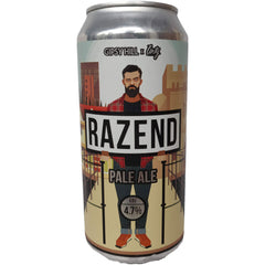 Gipsy Hill x Unity Brewing Razend Pale Ale 4.7% (440ml can)