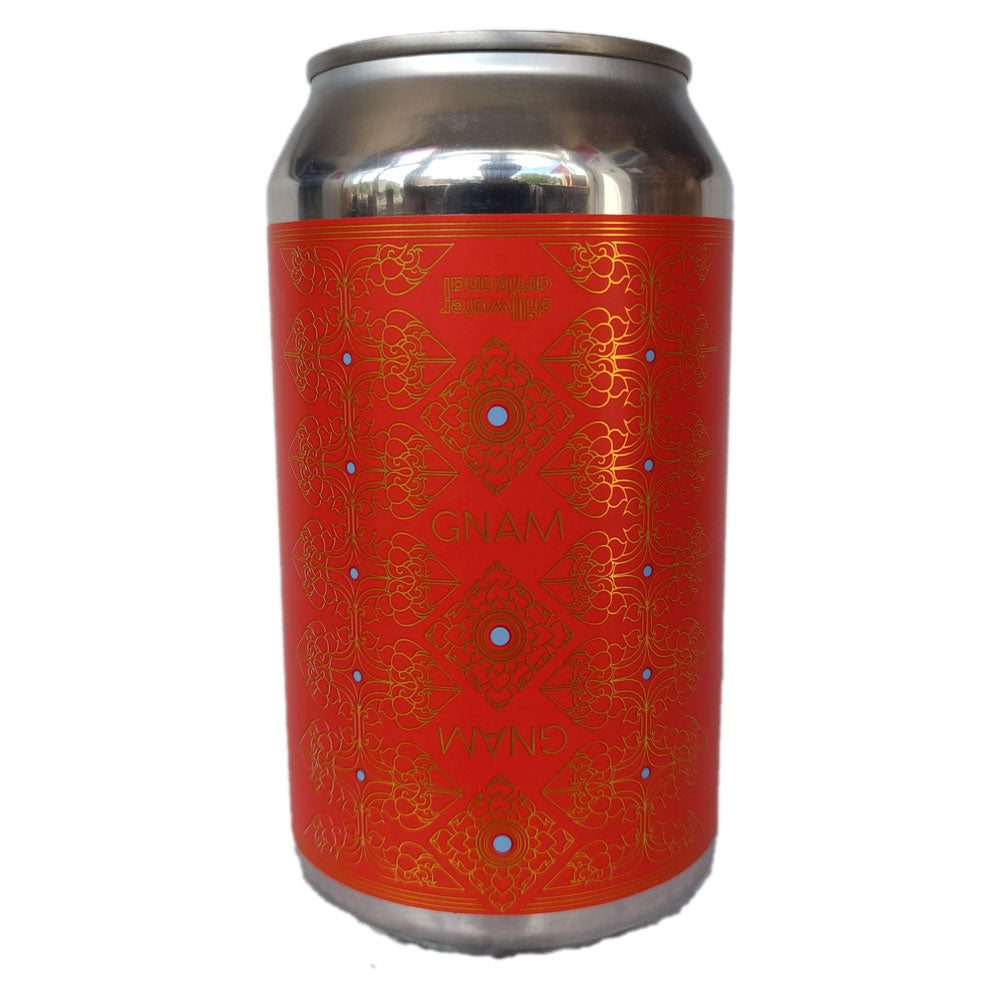 Stillwater Gnam Gnam DIPA 8% (355ml can)-Hop Burns & Black