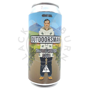 Gipsy Hill Outdoorsman Triple Fruited Sour 4.8% (440ml can)-Hop Burns & Black