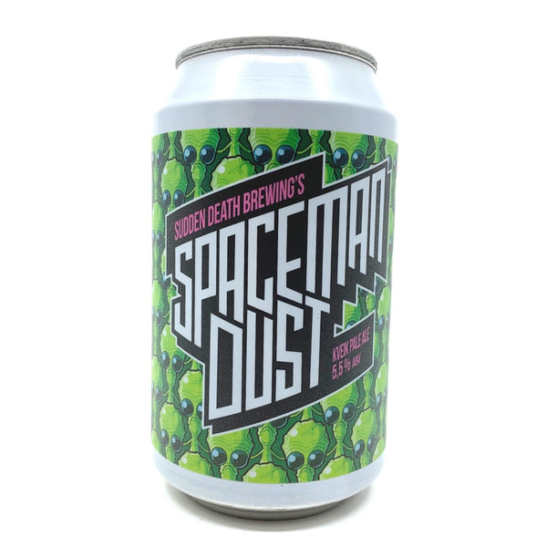 Sudden Death Spaceman Dust Pale Ale 5.5% (330ml can)-Hop Burns & Black