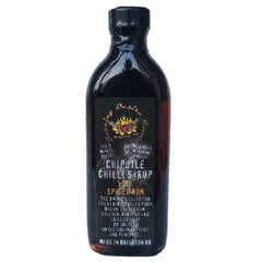 Burning Desire Chipotle Chilli Syrup with Vanilla and Spiced Rum (148ml)-Hop Burns & Black