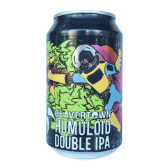 Beavertown Humuloid DIPA 8% (330ml can)-Hop Burns & Black