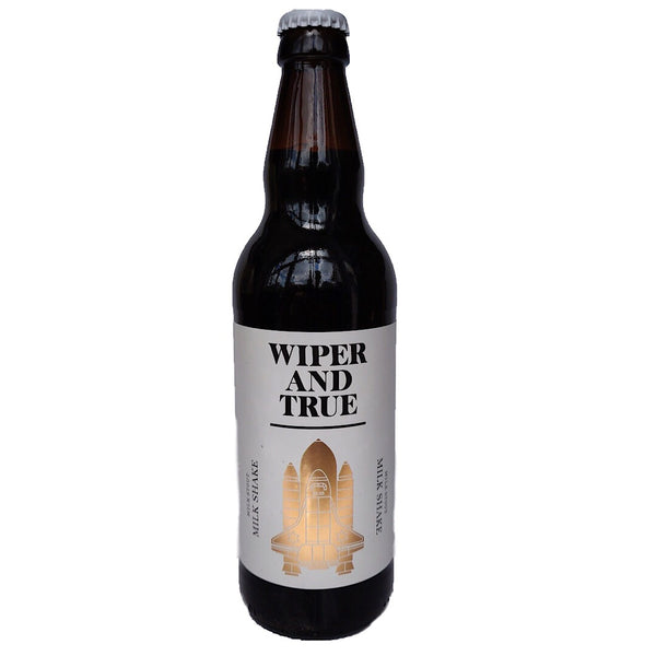 Wiper & True Milk Shake Milk Stout 5.6% (500ml)-Hop Burns & Black
