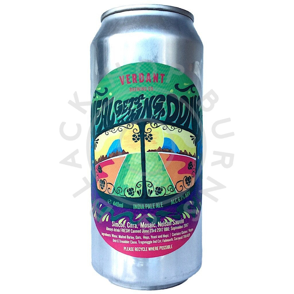 Verdant Neal Gets Things Done IPA 6.1% (440ml can)-Hop Burns & Black