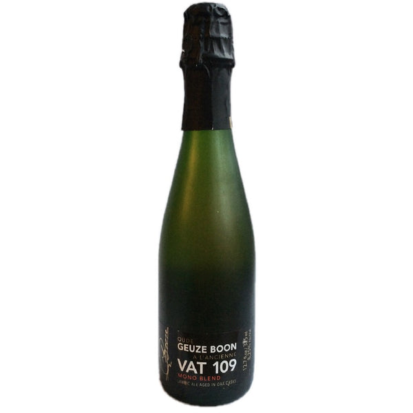 Boon Oude Gueuze Vat 109 Mono Blend 8.25% (375ml)-Hop Burns & Black
