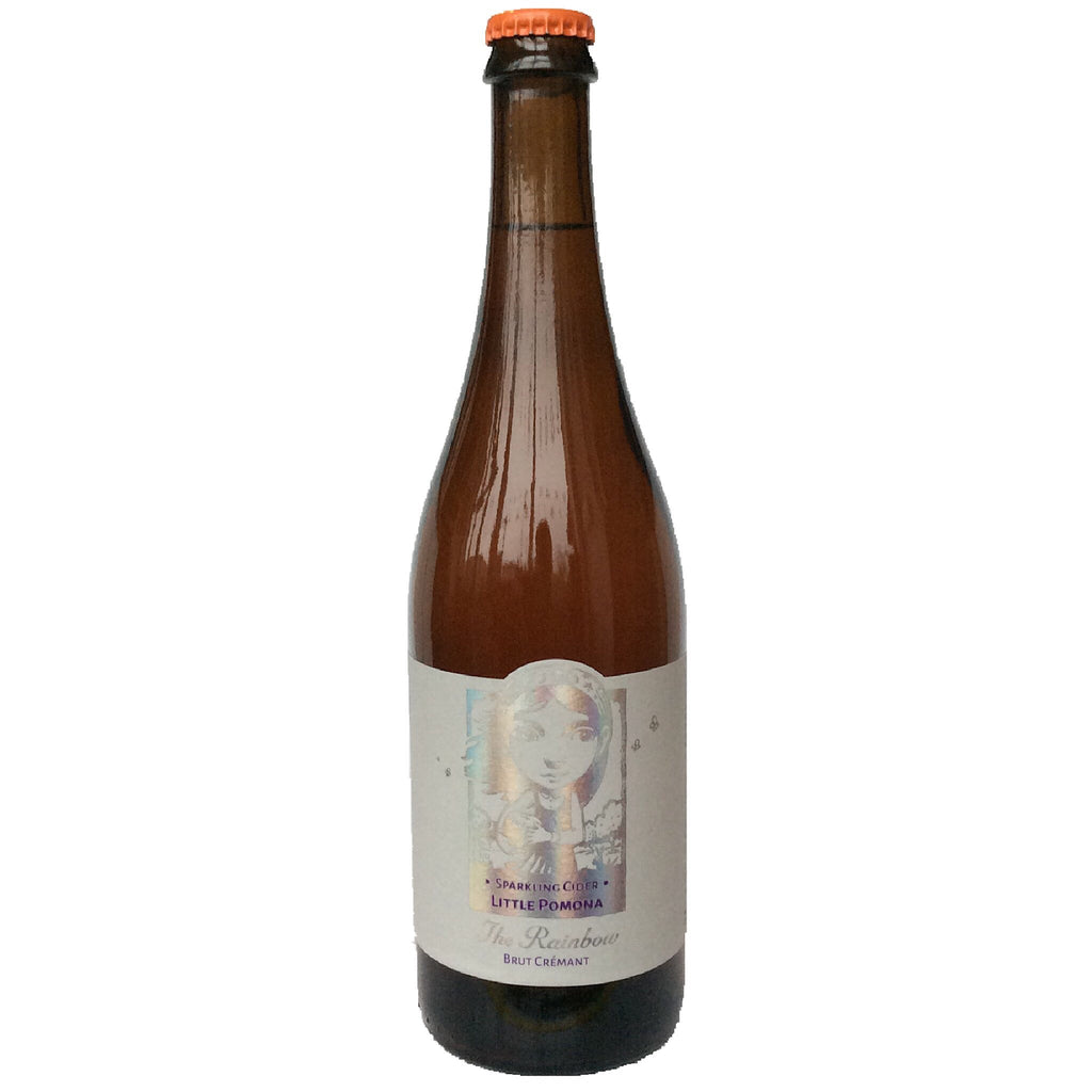 Little Pomona The Rainbow Dry Sparkling Cider 7.9% (750ml)-Hop Burns & Black