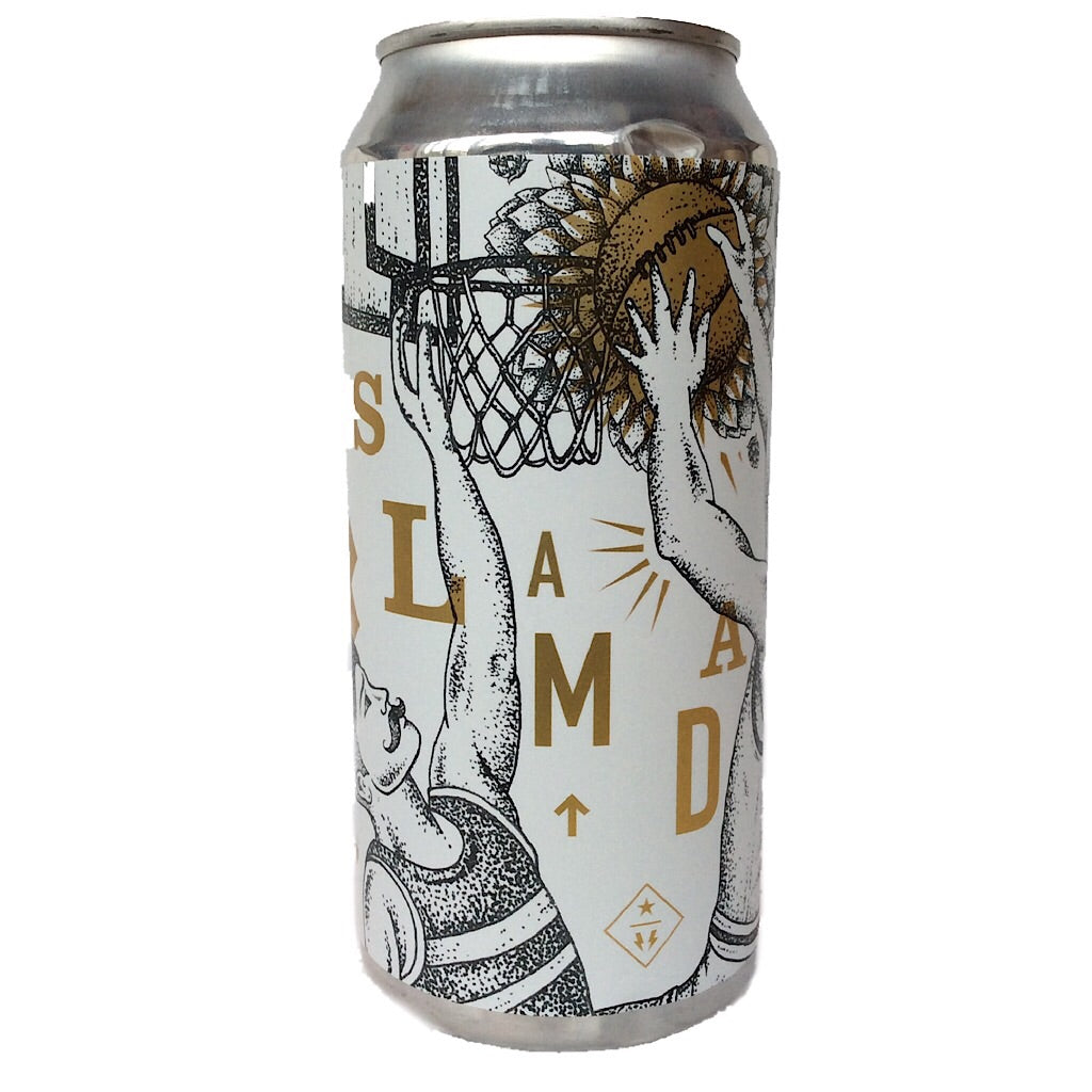Northern Monk Slam Dank IPA Patrons Project 6.03 7.4% (440ml can)-Hop Burns & Black