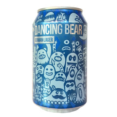 Magic Rock Dancing Bier German Lager 4.5% (330ml can)-Hop Burns & Black