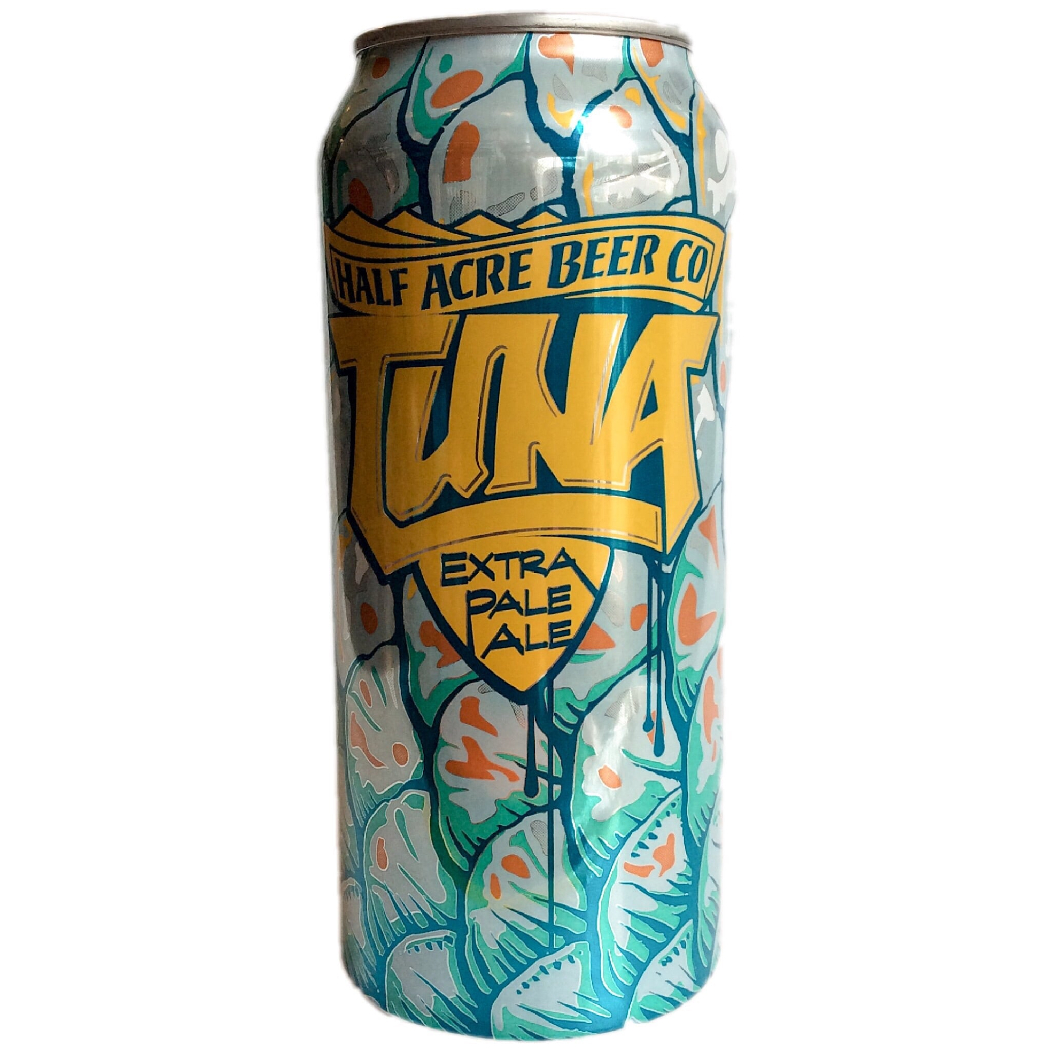 Half Acre Tuna Extra Pale Ale 4.7% (473ml can)-Hop Burns & Black
