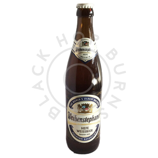 Weihenstephaner Hefe Weiss 5.4% (500ml)-Hop Burns & Black
