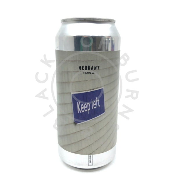 Verdant Keep Left 2020 Double IPA 8% (440ml can)-Hop Burns & Black