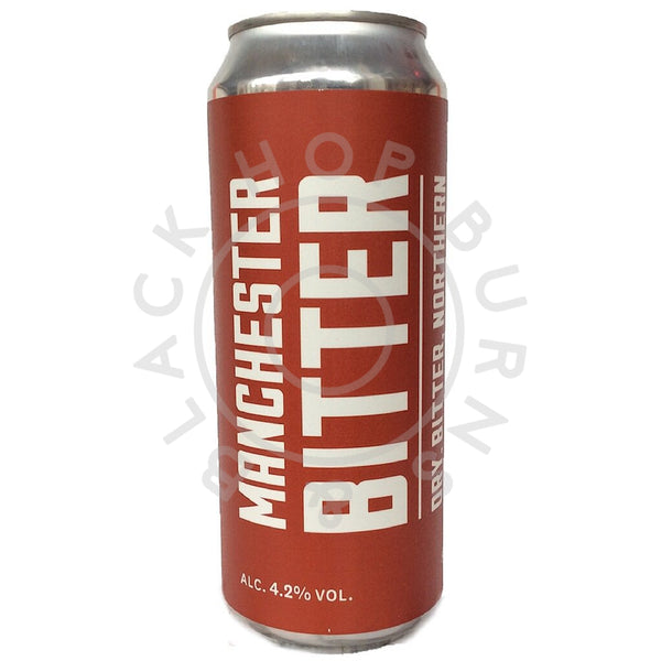 Marble Manchester Bitter 4.2% (500ml can)-Hop Burns & Black