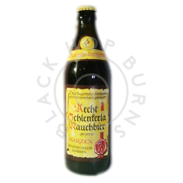 Schlenkerla Rauchbier Marzen 5.1% (500ml)-Hop Burns & Black