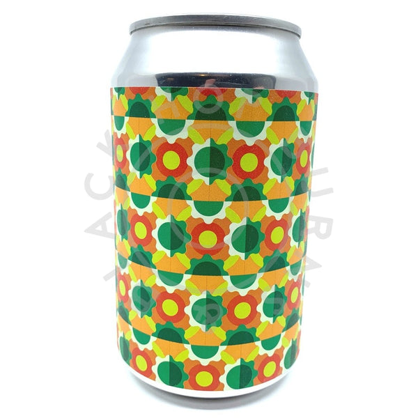 Brick Brewery Grapefruit, Citra and Bergamot Sour Saison 4.8% (330ml can)-Hop Burns & Black
