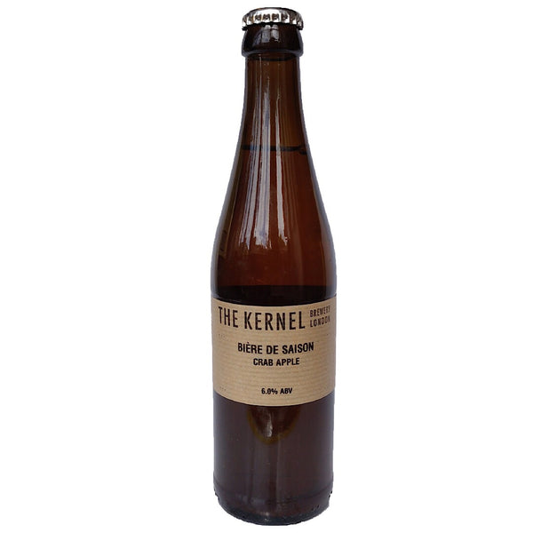 Kernel Biere de Saison Crab Apple 6% (330ml)-Hop Burns & Black