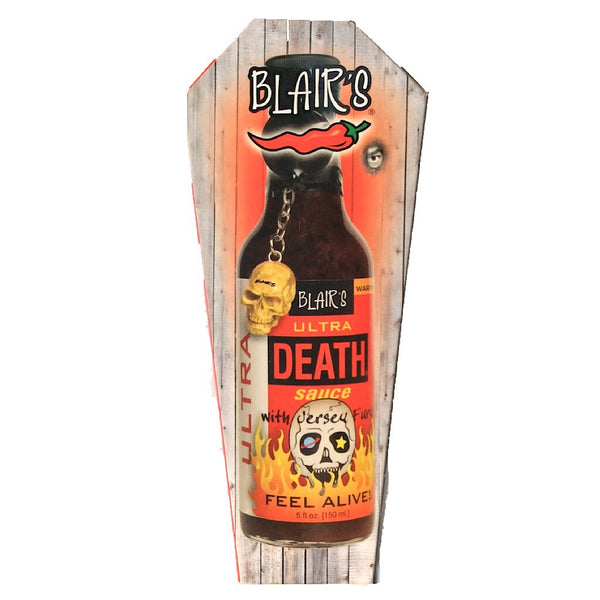 Blair's Ultra Death Hot Sauce (150ml)-Hop Burns & Black