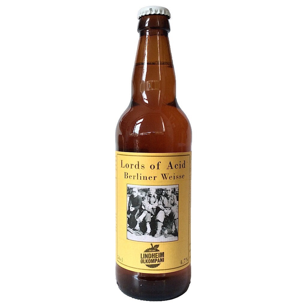 Lindheim x Lervig x Edge Lords of Acid Berliner Weisse 4.7% (500ml)-Hop Burns & Black