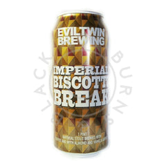 Evil Twin Imperial Biscotti Break 11.5 % (473ml can)-Hop Burns & Black