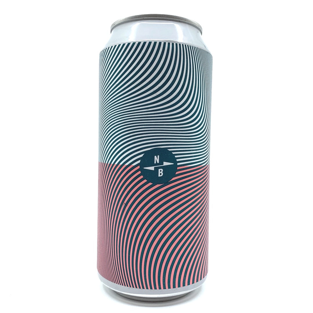 North Brewing Co Triple Fruited Gose White Guava + Pink Guava + Mango 4.5% (440ml can)-Hop Burns & Black