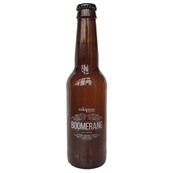 Salopian Boomerang IPA 6.9% (330ml)-Hop Burns & Black