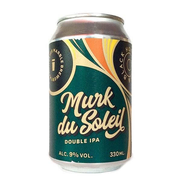 Marble & Hop Burns & Black Murk du Soleil NZ NEIPA 9% (330ml can)-Hop Burns & Black