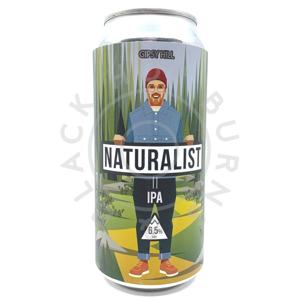 Gipsy Hill Naturalist IPA 6.5% (440ml can)-Hop Burns & Black
