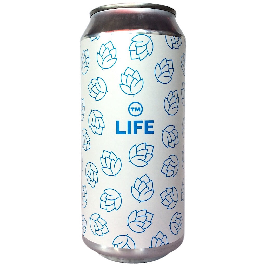 Cloudwater x Other Half TM Life IPA 6% (440ml can)-Hop Burns & Black
